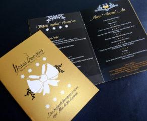 Folder (6 pages) des fêtes de fin d'année -  Hotel Van Der Valk Verviers